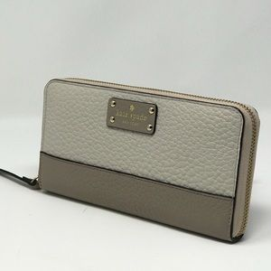 Kate Spade Lacey Bay St Multi Color Baige Wallet